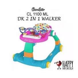 Baby walker 2 in 1 Cocolatte siap pakai