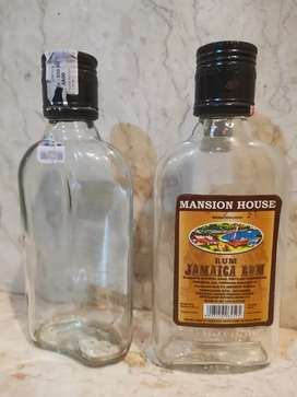 Botol kosong bekas rum jamaica 250ml