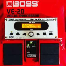 Efek vocal mantap BOSS VE-20 mulus