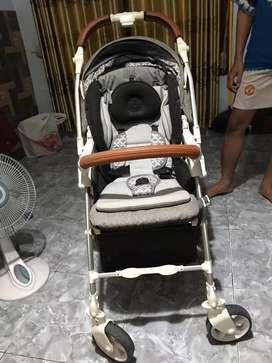 WTS stroller cocolatte capella cony