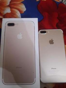 I phone 7 plus 32 gb and neat condition and all accessroies aviables