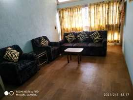 Only Company Family Furnished flat no Rent at Nanpura area