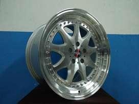 velg hsr wheel ring 18 inc lobang 5x112 bisa utk mobil civic