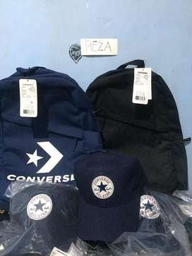 Topi Converse warna navy Original kondisi Baru