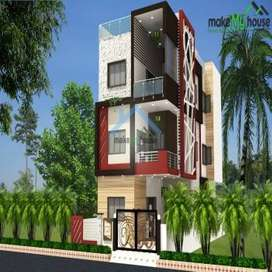 8marla(200 sq.yd) brand new tastefully built house on B-Road for sale