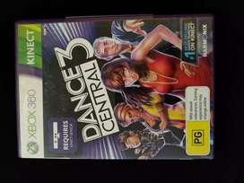 Dance central 3 for xbox360 with Kinect.