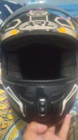 Helm fullface ARL bekas