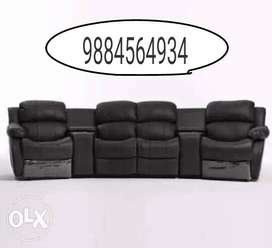 brand new beautifull recliner sofa