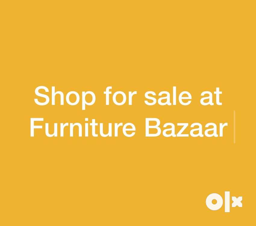 Furniture shop for sale at Furniture Bazaar