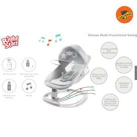 RIGHT START DELUXE MULTI FUNCTIONAL SWING - Ayunan Bayi Otomatis