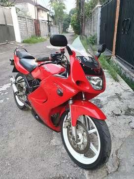 Kawasaki Ninja RR super mulus, barang simpanan, top!