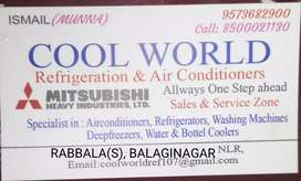 coolworldrefgiration & Air-conditionar electrical & electronics seri
