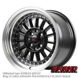 Namlea R15 H8 Smbml - Velg Mobil Racing Hsr Wheel Import (free ongkir)