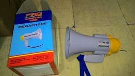 megaphone toa pengeras suara alarm rekam speaker baterai cas