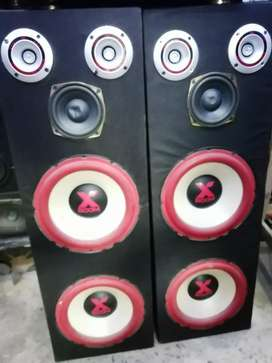 10. 10 inch woofer with amplifier