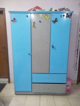 Two beds and Wardrobe for Kids