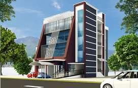 10200 Sq.ft G+3 Commercial Building for rent at Ashokapuram.