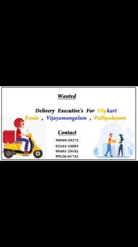 Delivery Executives wanted