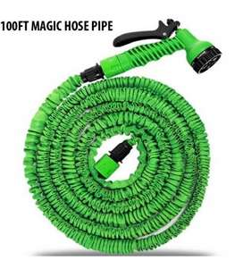 Magic Hose Water Pipe 100ft for Garden & Car wash