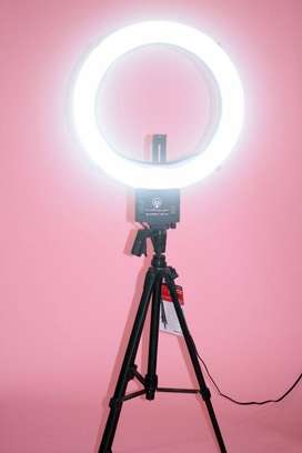 3 Color Ring Light 26cm with or without Tripod Stand