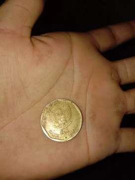 Jual uang kuno 100 rupiah logam/lembar