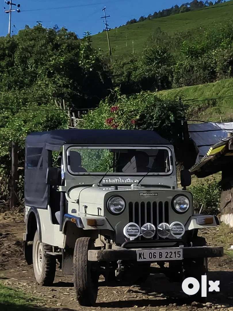 Mahindra Jeep 2001 Diesel 25800 Km Driven new clutch good tyre