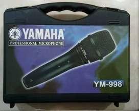 MIC KABEL YAMAHA YM-998 KOPER Free Kabel 3 meter utk Karaoke Pidato
