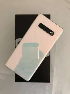 Samsung s 10 plus available with reasonable price  with all color  wit