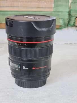 Canon 14mm 2.8 L lens