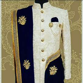 Brand New Sherwani for Men with all Accessories