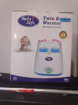 Baby Safe - Twin Bottle Warmer kondisi 100% Baru