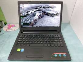 Lenovo Ideapad 100 Intel Core i3-5005U 4GB|500 Dual NVIDIA 920M Mulus