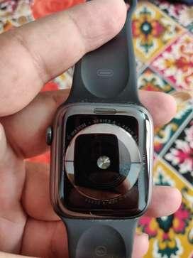Apple watch series 4 cellular+gps  44mm aluminium & ceramic case