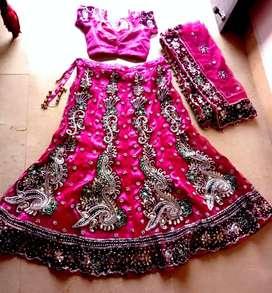 New designe bridal lahnga.