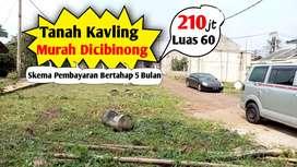 Tanah perkavling murah dicibinong