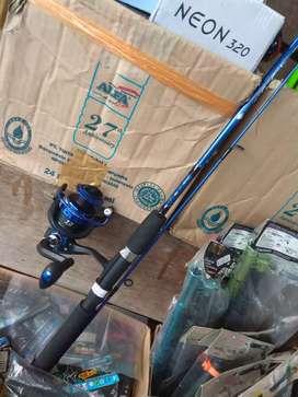 Stik lkp u.kolam/sungai, stik fiber catfish EEL150+Reel YUMOSHI BK2000