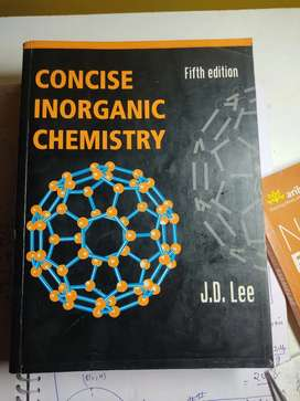 J.D LEE  inorganic chemistry book