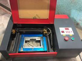 50w Co2 3020 laser cutting and Engraving machine