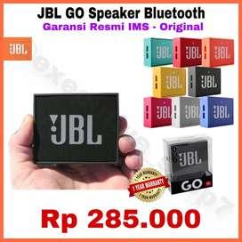 READY ORIGINAL Speaker Bluetooth Portable JBL GO Garansi 1 Thn PT IMS
