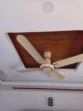 Bajaj 4 leafs ceiling fan * 2 piece