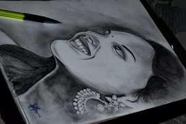Customized portrait drawing