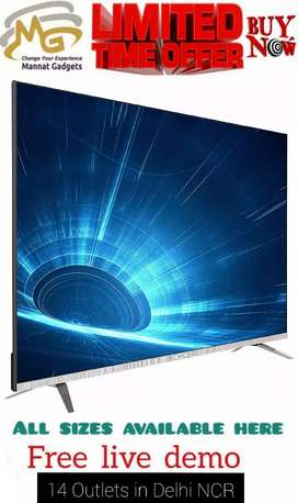 50 inch smart LED TV {{Excellent picture quality}}