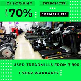 USED MOTORISED TREADMILLs 7,990 onward 1 YEAR WARRANTY 20 Models A fee