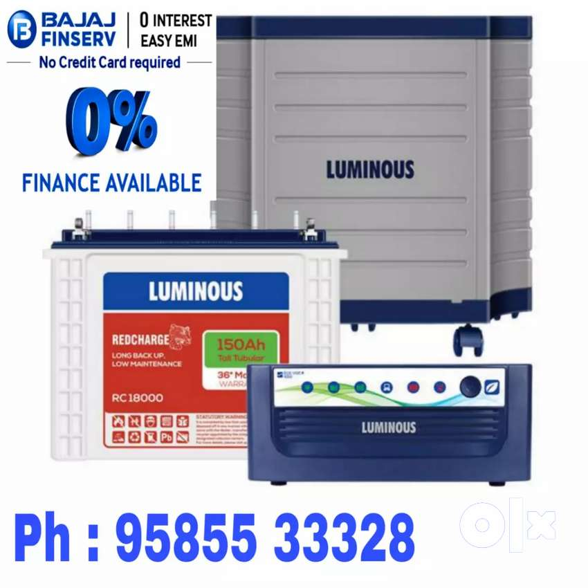 Exide Luminous Microtek ups & Battery 0