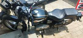 Royal enfield bullet standard 350 cc, fully modified,
