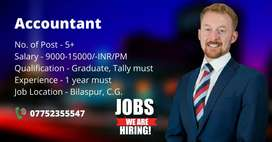 Looking for accountant...