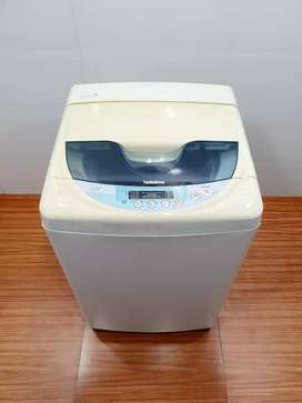 LG steps 6kg top load washing machine