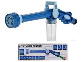 Ez Jet Water Cannon - 8 In 1 Turbo Water Spray For Gardening & Car