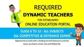 DYNAMIC TEACHER REQUIRED