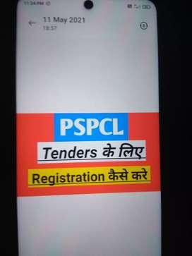 Online Tender and Vendor Registration service to All PSU Compnies